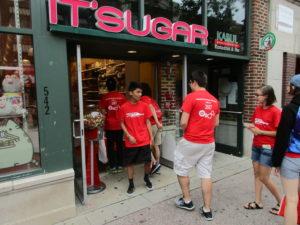 ProCSI 2017 members shop on State Street