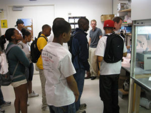 ProCSI 2008 members watch an experiment