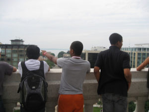 ProCSI 2010 members sightseeing