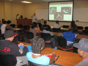 ProCSI 2010 members listen to a lecture