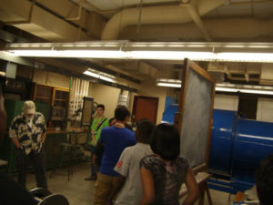 ProCSI 2011 members take a lab tour