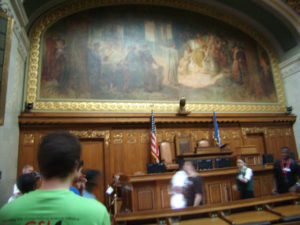 ProCSI 2011 members take a tour of the Wisconsin capitol