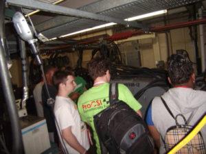 ProCSI 2011 members tour a lab