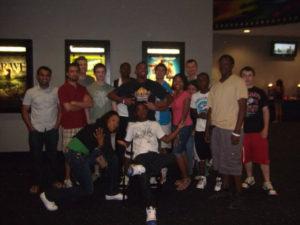 ProCSI 2011 group photo at a movie theatre