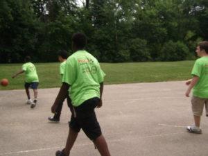 ProCSI 2011 members play basketball