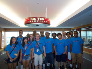 A group picture of ProCSI 2012 members at Camp Randall
