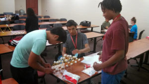 A ProCSI 2013 group builds a project
