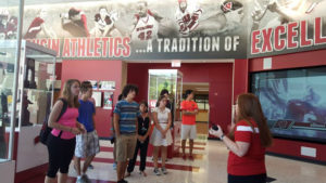 ProCSI 2015 members tour Camp Randall