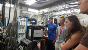 ProCSI 2015 members listen to a lab tour