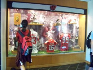A ProCSI 2016 camper looks at the history of Wisconsin's football jerseys